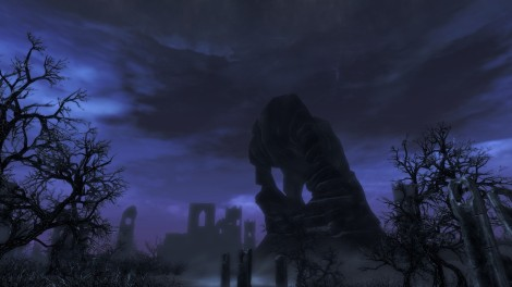 The gloomy Soul Cairn is one of the new areas the player can explore.