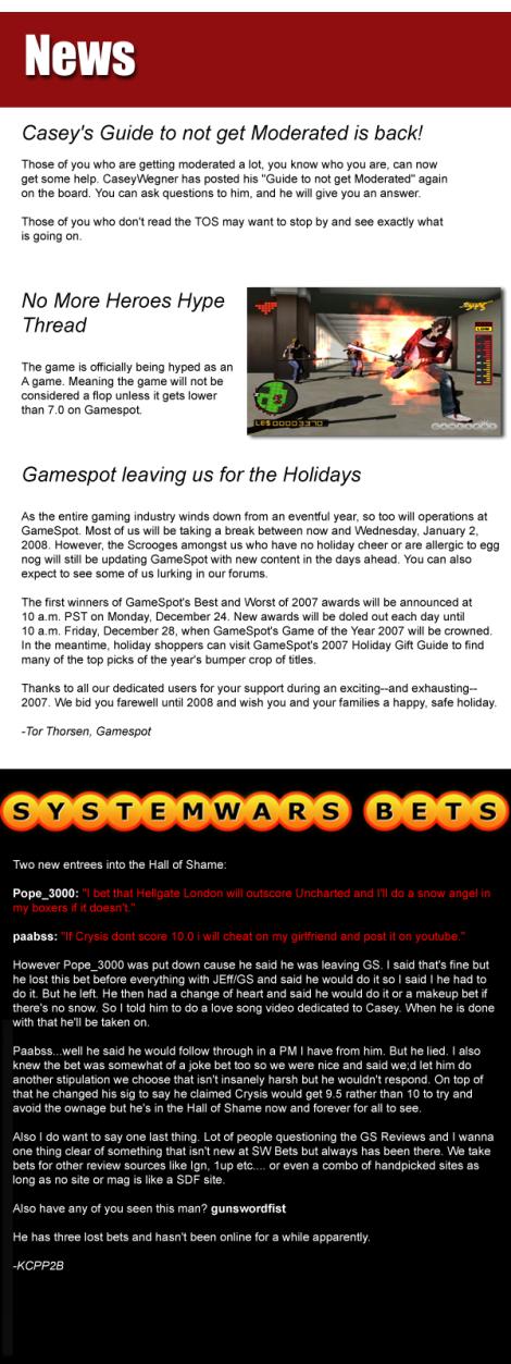 news december 2007