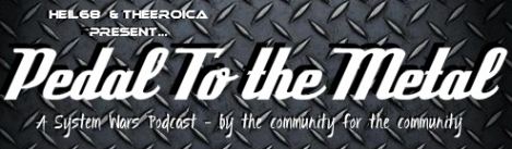 pedal to the metal logo 2