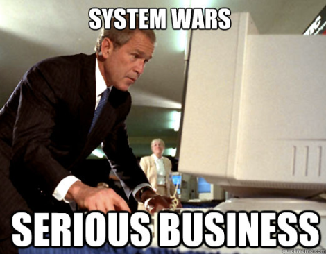 System Wars Serious Business