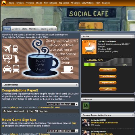 social cafe union