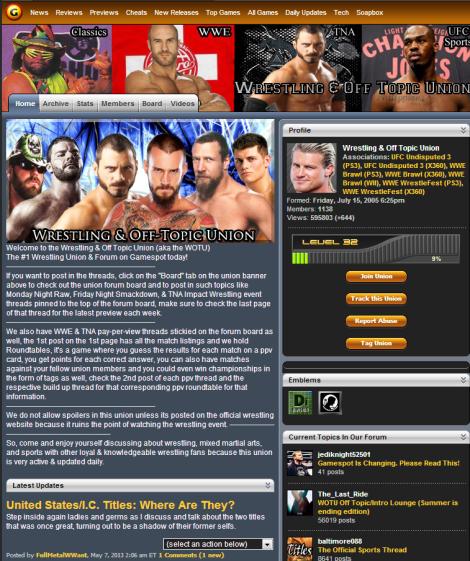 wrestling union