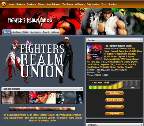 fighters realm union