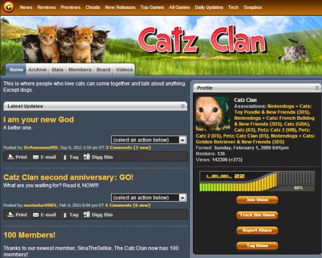 catz clan